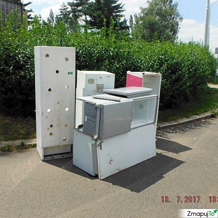 Podnět 142608 - Černá skládka - Praha 10 #Černáskládka #Praha10 #ZmapujTo #MobilniRozhlas