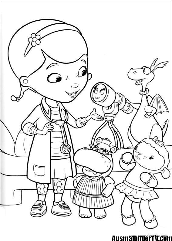 Ausmalbilder Doc Mcstuffins Ausmalbilder Geburtstag Malvorlagen Disney Prinzessin Malvorlagen