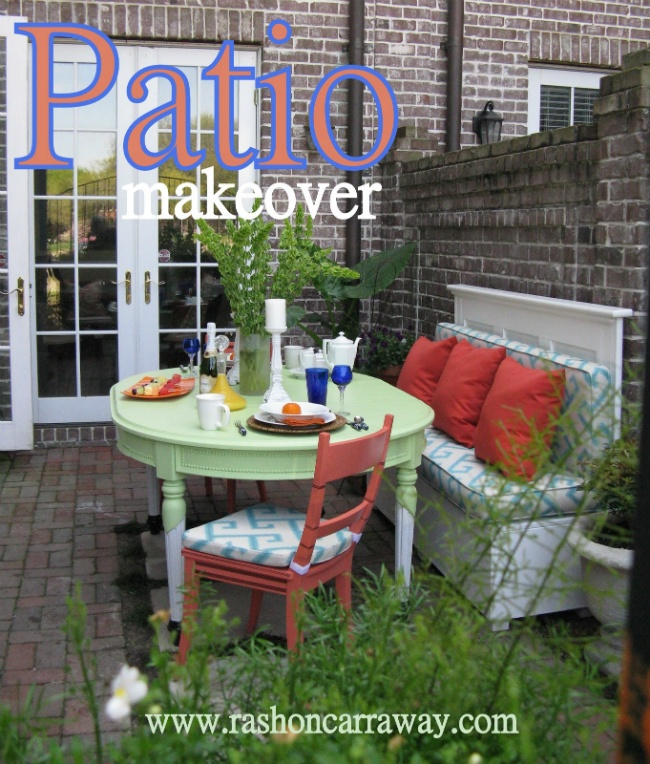 An outdoor space by Mr. Goodwill Hunting on the Nate Berkus show for only $104!
