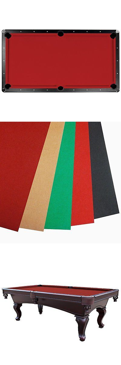Tables 21213: Championship Saturn Ii Billiards Cloth Pool Table Felt , Red, 8-Feet -> BUY IT NOW ONLY: $113.73 on eBay!