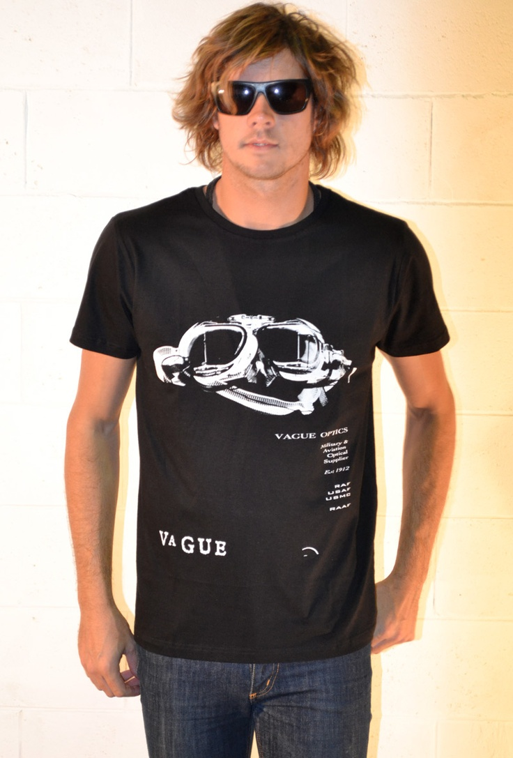 Optics Crew Black - Vague Clothing