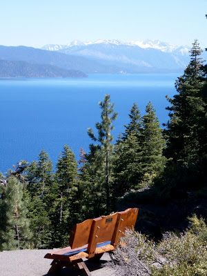A Mystery Writer's Notes From Tahoe: Best Hikes In Tahoe - Crystal Bay Fire Lookout