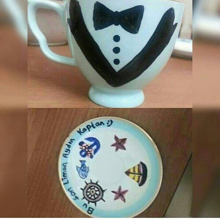Damat kahve fincanı