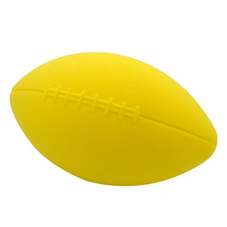 Our Yellow Coated American Football http://foamballsdirect.co.uk/