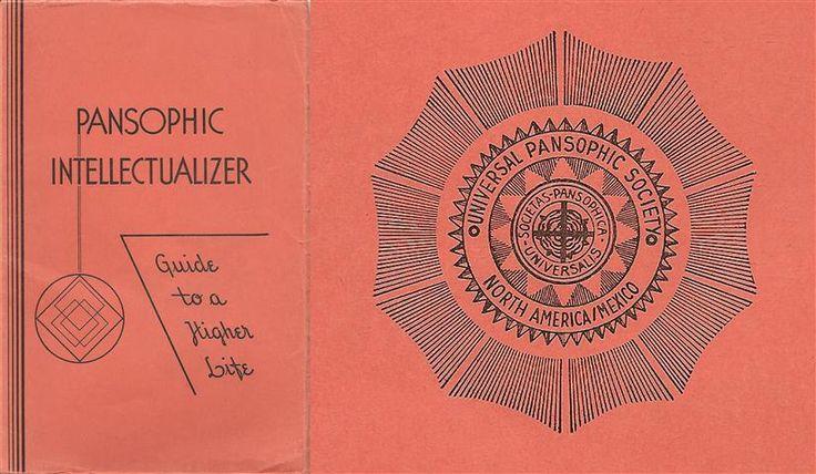 Heinrich Traenker Universal Pansophic Society Societas Pansophia Universalis Pansophic Intellectualizer G.W. Surya