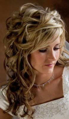 Wedding Hairstyles for Long Hair with Veil   bridal-hairstyles-for-long-hiar-with-veil-half-up-2013-for-short-9837 ...