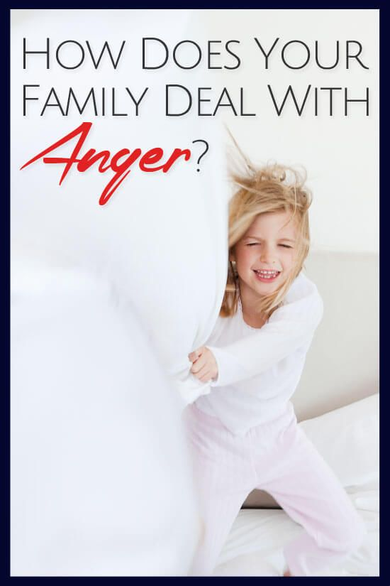 How Does Your Family Deal With Anger?