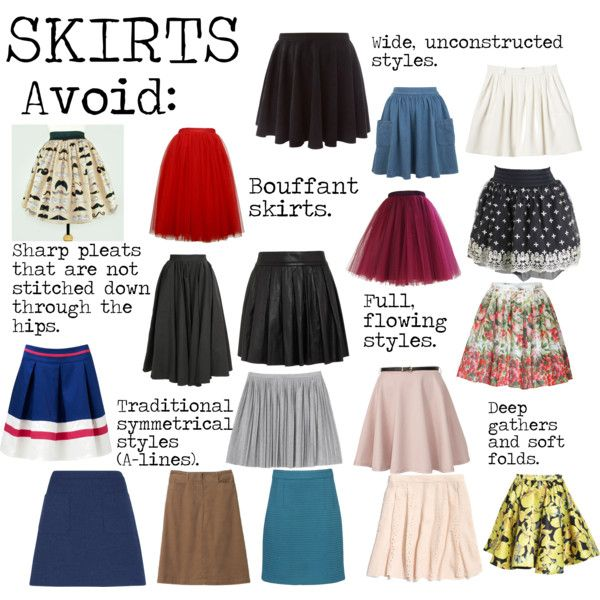 """Flamboyant Gamine (FG) Skirts to avoid"" by lightspring on Polyvore"
