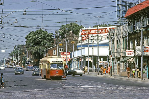 Roncesvalles Avenue History