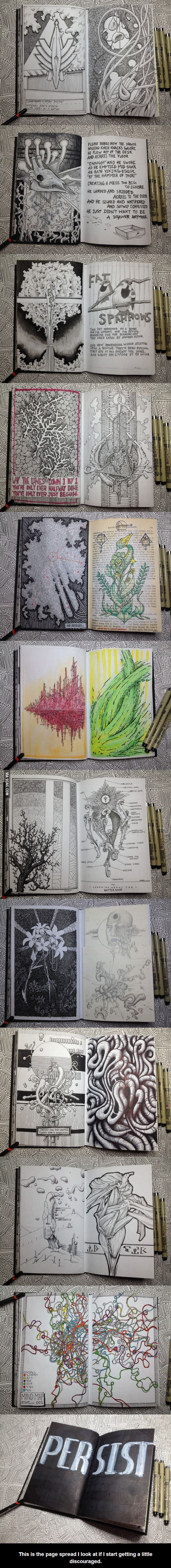 Awesome sketchbook!