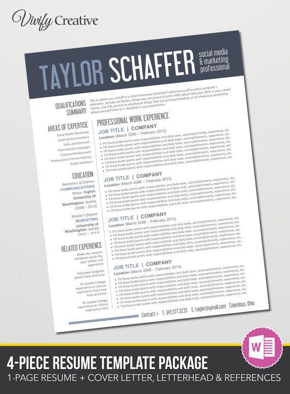 133 best Resume Designs images on Pinterest Design resume - international experience resume