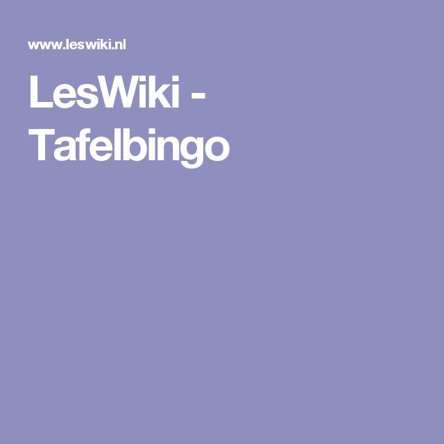 LesWiki - Tafelbingo