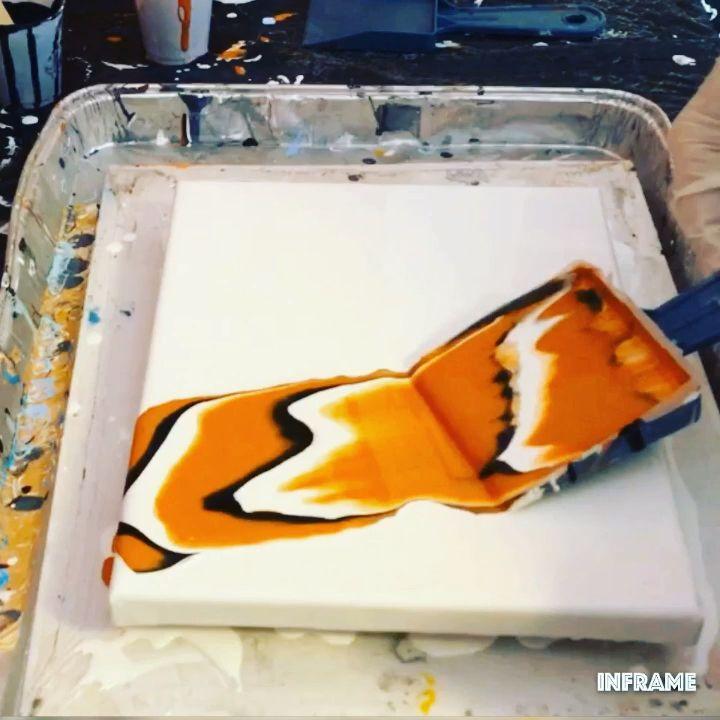 Fluid Acrylic Painting Video