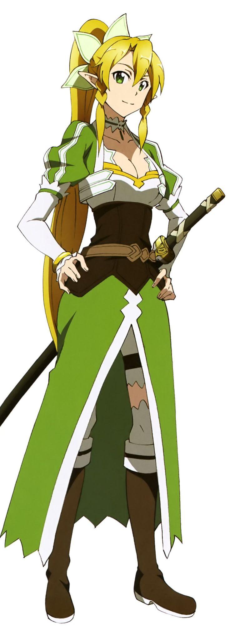 Sword Art Online, Leafa, official art