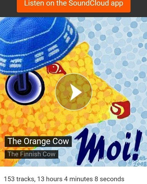 ..the Orange Cow made a playlist of tunes from Finland on Soundcloud - #finland100_igchallenge 75/100 ... 'posting a series of random images from or associated with Finland to celebrate the country's 100th birthday! . . #thisisfinland #apocalyptica #nightwish #phenomenalcreature #weareinfinland #finnish #playlist #therasmus #soundcloud #musiclovers #musiccommunity #nowplaying #music #rock #thefinnishcow #theorangecow #musiikki #musicfromfinland #myfinland #weareinfinland