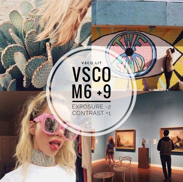 M6 VSCO filter edit