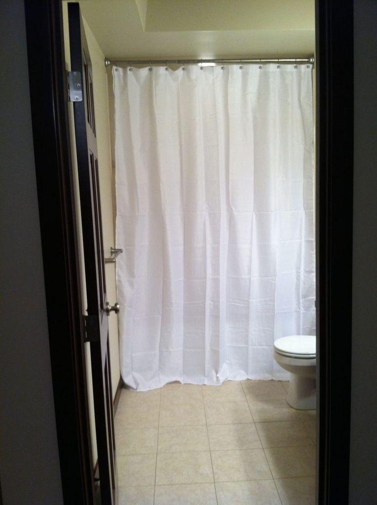 Extra Long Shower Curtain Length