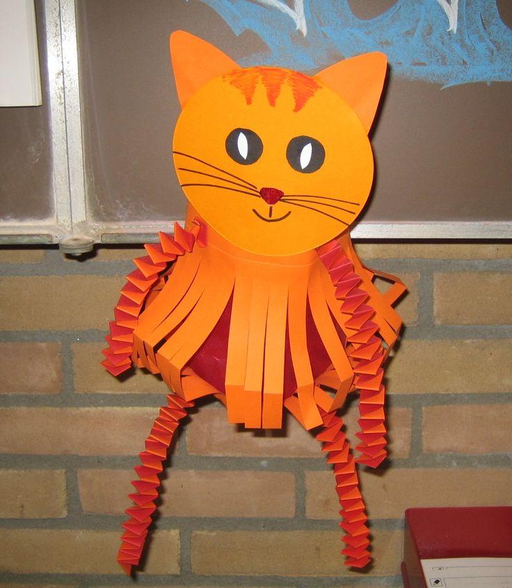 lampion poes - Als de kat van huis is dansen de muizen! Kinderboekenweek 2014 Feestbeesten.