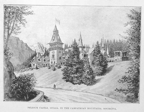 Sinaia - Castelul Peles - 1893