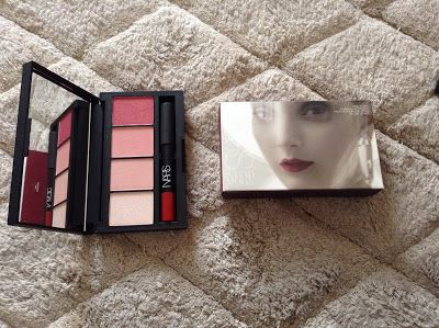 Nars Sarah Moon True story lip & cheek palette | Beauty Notes by Athina