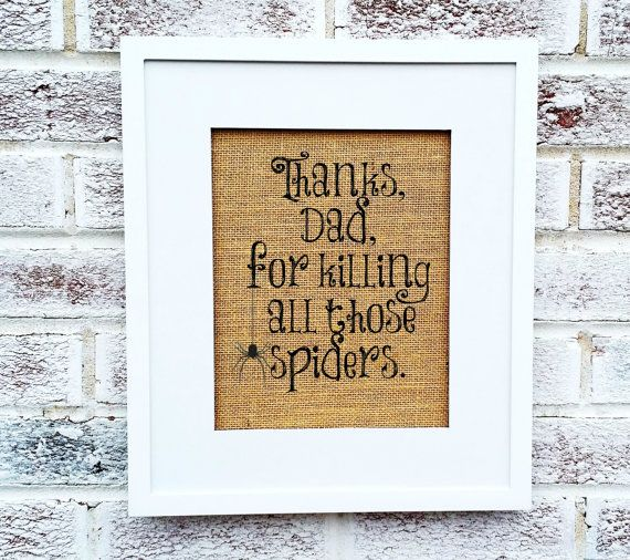 Funny Father's Day gifts Thanks Dad for killing by MelodyPrints