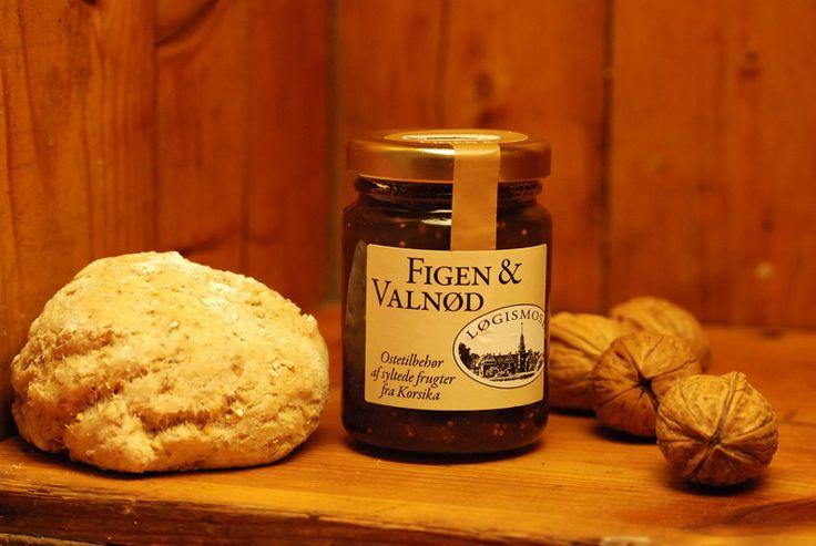 Fig & walnut cream spread