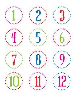 free number printables