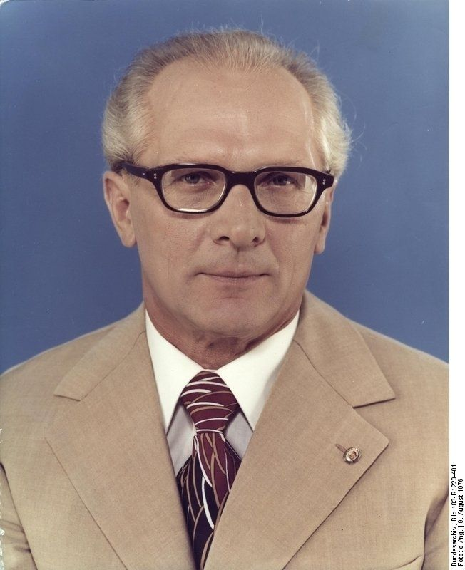 erich honecker 1976