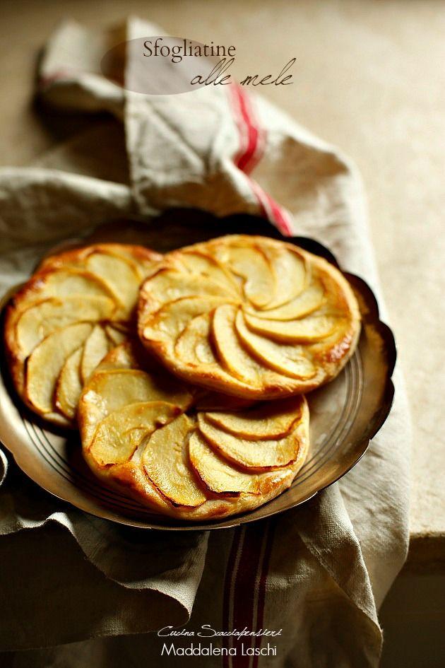 Sfogliatine alle mele | Cucina Scacciapensieri