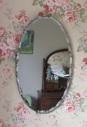Vintage Oval Mirror