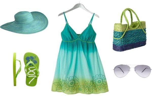 Одежда и обувь для пляжа