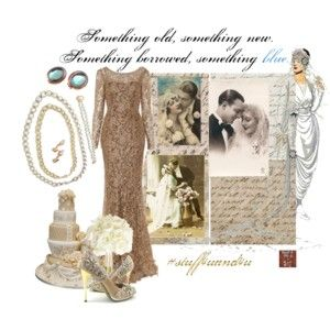 Wedding - Something Old New Borrowed and Blue