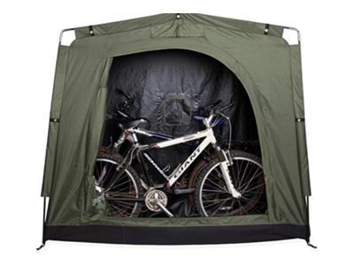 The YardStash II is guaranteed to keep your bikes and other outdoor gear dry and accessible.Outdoor Storage, Storage Spaces, Bikes Storage, Storage Sheds, Stuff, Yardstash Photos, Yards Stash, Yardstash Outdoor, Yardstash Ii