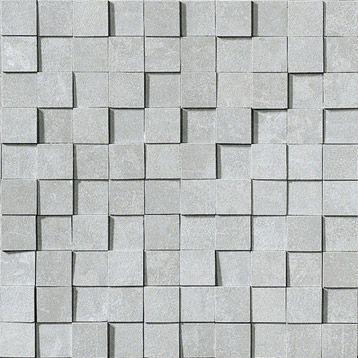 Mosaïque Factory 3D ARTENS, gris, 3x3 cm