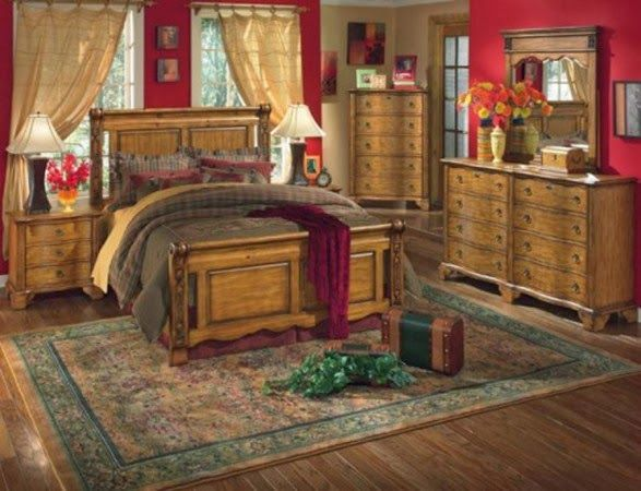 Country Master Bedroom Designs