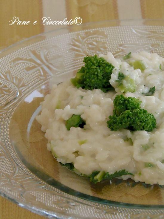 Riso cremoso con broccoli e mozzarella Rice Casserole