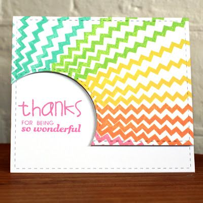 Card by PS GDT Lyndal Higgins using the PS Many Thanks and Borderlicious stamp sets