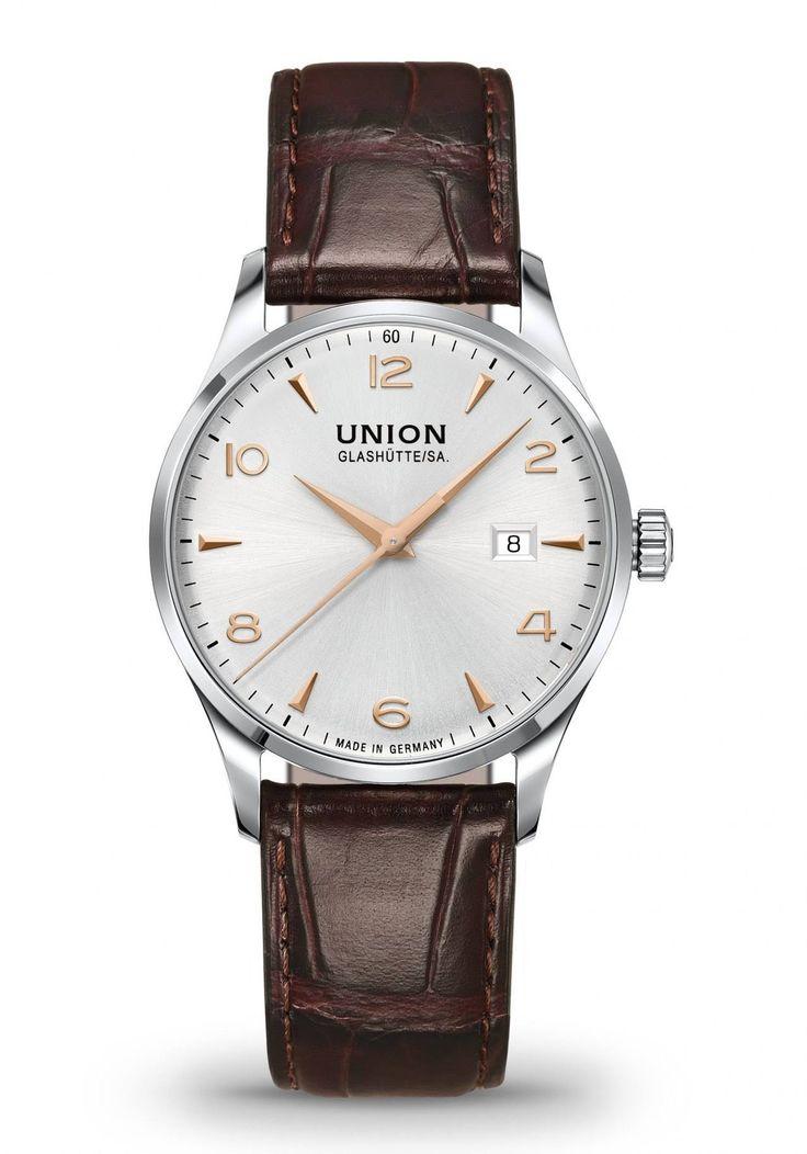Union Glashütte SA. Uhren D005.407.16.037.01 Noramis Datum Herrenuhr Automatik