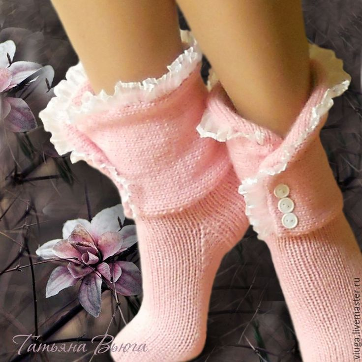 Купить Про Любовь. Носки вязаные, шерстяные, домашняя обувь - носки вязаные…
