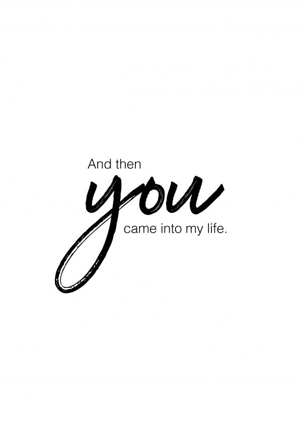 When You Came Into My Life Quotes : quotes, Cards, Quotes, 🌹💌, Postcards, Online, Quotes,, Husband, Yourself