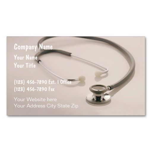 The 190 best medical professionals business cards images on medical business cards reheart Image collections