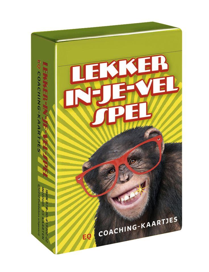 L E K K E R I N J E V EL S P E L In dit spel zijn 48 emoties overzichtelijk in kaart gebracht. De oplossingsgerichte vragen helpen kinderen, jongeren en volwassenen bij het omgaan met emoties. Onmisbaar thuis, op school of in de coachingpraktijk