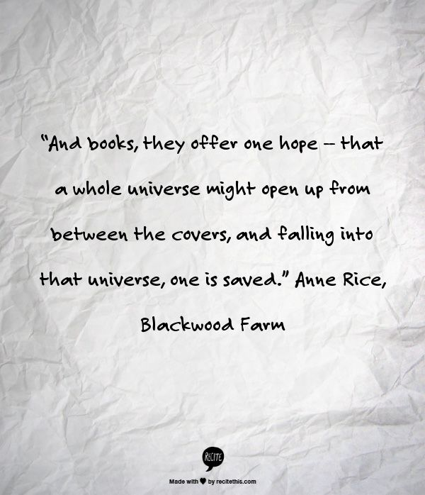 Anne Rice, Blackwood Farm (the last book of The Vampire Chronicles)