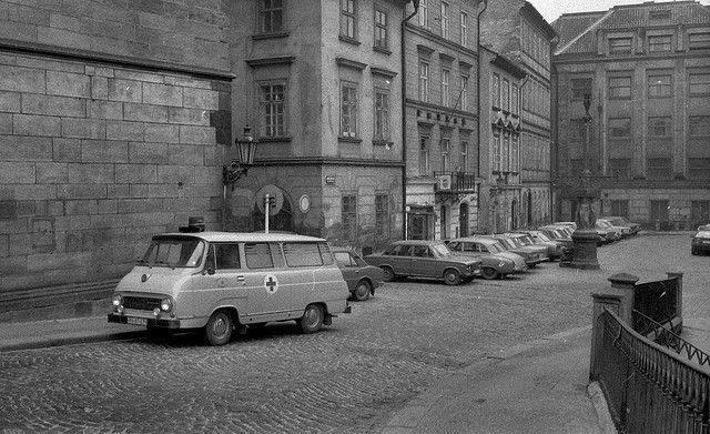Skoda S 1203 Ambulance in Prague