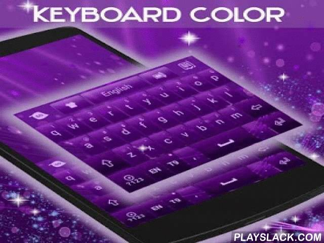 """Color Keyboard Purple  Android App - playslack.com ,  How To Install:- Follow the 3 steps: open the application after downloading, click on the """"Set as Active Theme"""" button and select the theme from the following page!- This theme uses GO Keyboard. If you do not have it installed, you will be redirected to a download page!- If you are having problems installing GO Keyboard, please watch this instructional video: https://www.youtube.com/watch?v=f1-zuZJKcdEPresentation:- Our designers got…"""