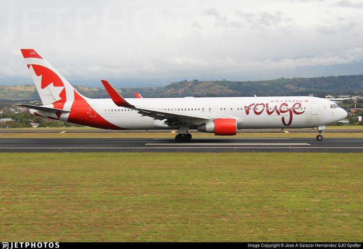 Photo of C-FMXC - Boeing 767-333(ER) - Air Canada Rouge
