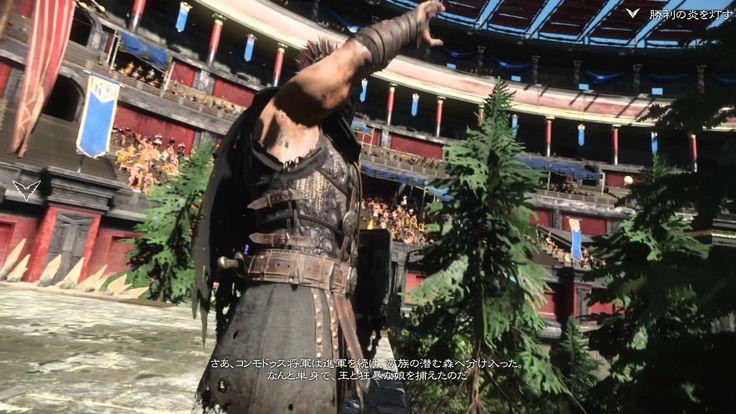 [39] Ryse: Son of Rome  ライズ:サン・オブ・ローマ  柵を焼き払う  勝利の炎を灯す