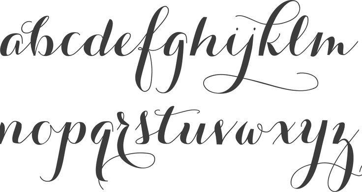 abecedario cursiva vintage - Buscar con Google