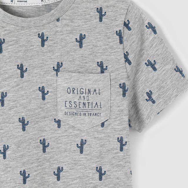 T-shirt imprimé cactus 3-12 ans R essentiel