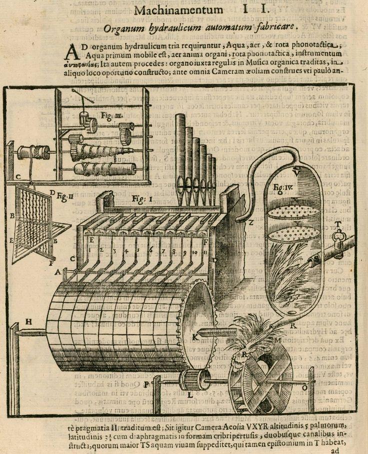 automatic hydraulic organ